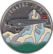 100 Francs (Junkers JU52) – reverse