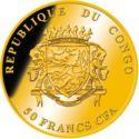 50 Francs CFA (Krugerrand) – obverse