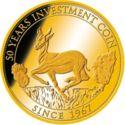50 Francs CFA (Krugerrand) – reverse
