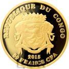 50 Francs CFA (Tenochtitlan) – obverse