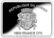 1000 Francs CFA (Year of the Dog) – obverse