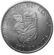 100 Francs (Polacanthus) – obverse