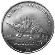 100 Francs (Polacanthus) – reverse