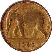 1 Franc - Léopold III – obverse