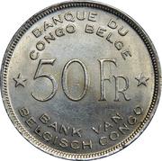 50 Francs - Léopold III – reverse