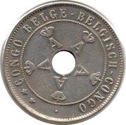 20 Centimes - Albert I – obverse