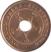 2 Centimes - Albert I – obverse
