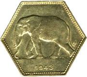 2 Francs - Léopold III – obverse
