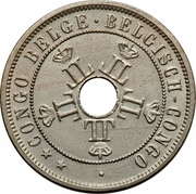 20 Centimes - Léopold II – obverse