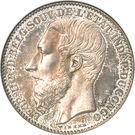 2 Francs - Léopold II – obverse