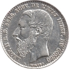 50 Centimes - Léopold II – obverse