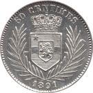 50 Centimes - Léopold II – reverse