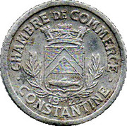 10 Centimes (Constantine Chamber of Commerce) – obverse