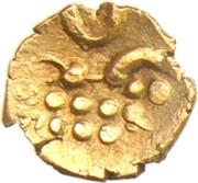 1 Fanam - Chickvirappa Wodeyar -  reverse