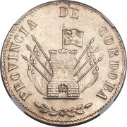 4 Reales -  obverse