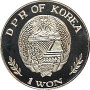 1 Won (Hyonmu) – obverse