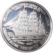 1 Won (German Naval Training Association) – reverse