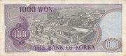 1 000 Won – reverse