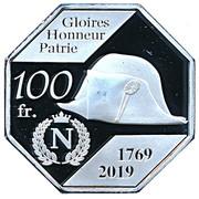100 Francs (Corsica) – reverse