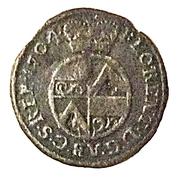 1 Pfennig - Florenz von dem Felde – obverse