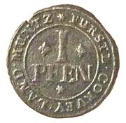 1 Pfennig - Florenz von dem Felde – reverse