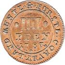 4 Pfennige - Theodor – reverse