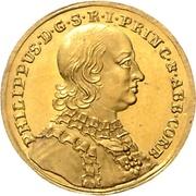 1 Ducat - Philipp von Spiegel zum Desenberg – obverse