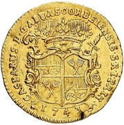 1 Ducat - Caspar von Böselager – obverse