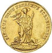 1 Ducat - Caspar von Böselager – reverse
