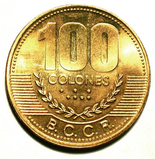 100 Colones - Costa Rica – Numista