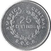 25 Céntimos (small size) -  reverse