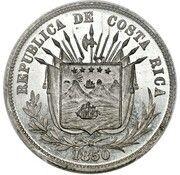 ¼ Peso (Pattern) – obverse