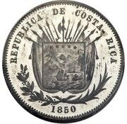 ½ Peso (Pattern) – obverse