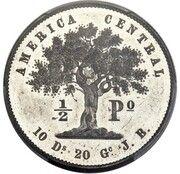½ Peso (Pattern) – reverse