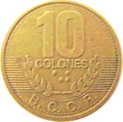 10 Colones -  reverse