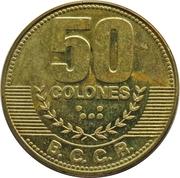 50 Colones -  reverse