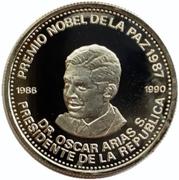 1000 Colones (Dr. Oscar Arias S.) – reverse