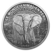 1 000 000 Francs CFA (Elephant) – reverse