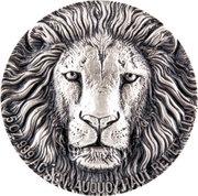5000 Francs CFA (Lion) – reverse