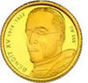 100 Francs CFA (Benedict XV) – reverse
