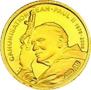 100 Francs CFA (John Paul II) – reverse