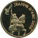 100 Francs CFA (Joan of Arc) – reverse