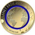 100 Francs CFA (Earth) – reverse