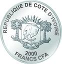 2000 Francs CFA (Burj Khalifa) – obverse