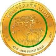 100 Francs CFA (Edelweiss) – reverse