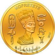 100 Francs CFA (Nefertari) – reverse