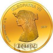 100 Francs CFA (Cleopatra) – reverse