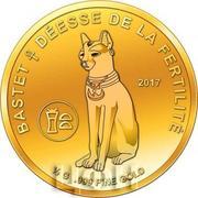 100 Francs CFA (Bastet) – reverse