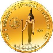 100 Francs CFA (Isis) – reverse