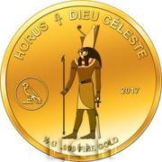 100 Francs CFA (Horus) – reverse
